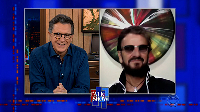 The Late Show with Stephen Colbert - 3/15/21 (Ringo Starr, Laura Benanti)