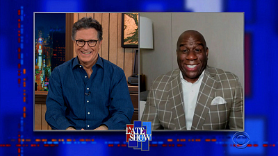 "The Late Show with Stephen Colbert - 3/17/21 (Earvin ""Magic"" Johnson, Eric Andre)"