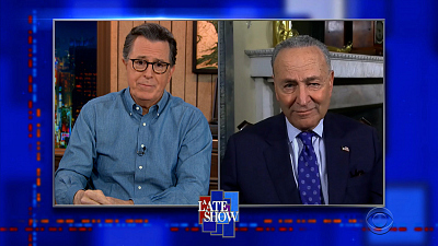 The Late Show with Stephen Colbert - 3/18/21 (Chuck Schumer, Jared Leto, LANCO)