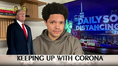 The Daily Show with Trevor Noah - The Daily Social Distancing Show - March 16, 2021