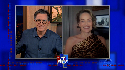 The Late Show with Stephen Colbert - 3/24/21 (Sharon Stone, Ken Burns)