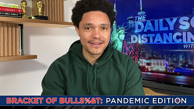 The Daily Show with Trevor Noah - The Daily Social Distancing Show - March 18, 2021
