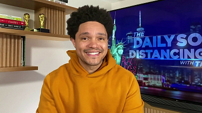 The Daily Show with Trevor Noah - The Daily Social Distancing Show - March 23, 2021