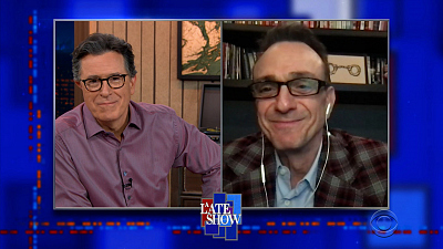 The Late Show with Stephen Colbert - 4/8/21 (Hank Azaria, Jeff Goldblum, Cheap Trick)