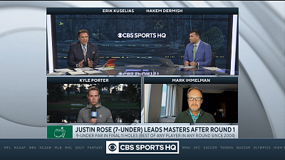 The Masters - CBS Sports HQ Masters Post Round Show  - 04/08/21