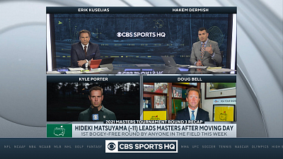 The Masters - CBS Sports HQ Masters Post Round Show  - 04/10/21