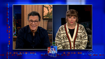 The Late Show with Stephen Colbert - 4/13/21 (Daniel Kaluuya, Taylor Swift, Lucy Dacus)