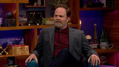 The Late Late Show with James Corden - 4/12/21 (Rainn Wilson, Tom Odell)