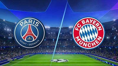 UEFA Champions League - PSG vs. Bayern