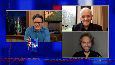 The Late Show with Stephen Colbert - 4/19/21 (Anthony Hopkins, Florian Zeller, Mazie Hirono)