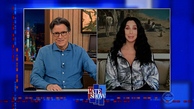 The Late Show with Stephen Colbert - 4/20/21 (Cher, Sam Williams)
