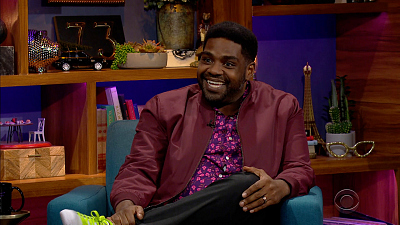 The Late Late Show with James Corden - 4/19/21 (Ron Funches, Karol G)