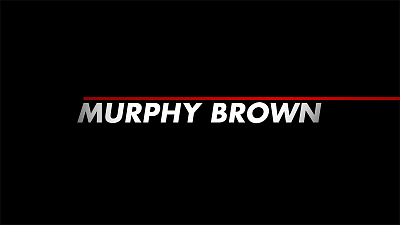 Murphy Brown - First Look At Murphy Brown on CBS