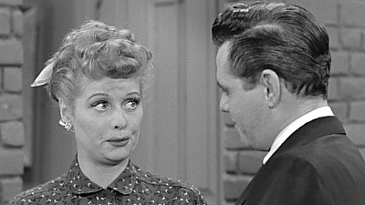 I Love Lucy - Fred and Ethel Fight