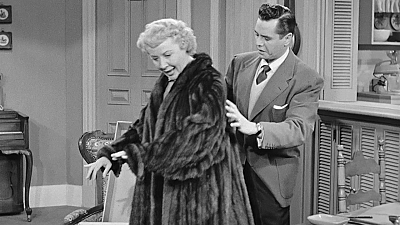 I Love Lucy - The Fur Coat