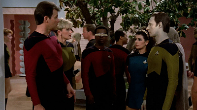 Star Trek: The Next Generation - Encounter At Farpoint - Part 2