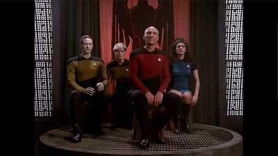 Star Trek: The Next Generation - Encounter At Farpoint - Part 1