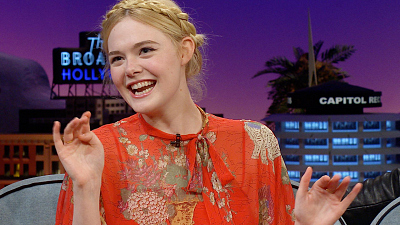 The Late Late Show with James Corden - Elle Fanning Had a Magical 21st Vegas Birthday