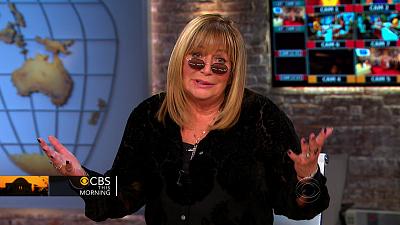 CBS This Morning - Penny Marshall, groundbreaking director, talks career, memoir