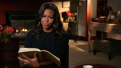 CBS This Morning - Michelle Obama's letter to her younger self