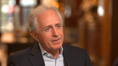 CBS This Morning - Sen. Corker says Trump's conduct hurts the US