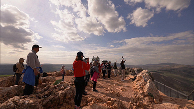 CBS This Morning - Jesus Trail in Israel blends history & views