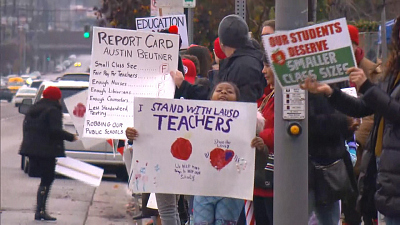 CBS This Morning - Most L.A. parents support teachers on strike
