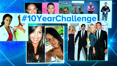 "CBS This Morning - ""10 Year Challenge"" raises privacy concerns"