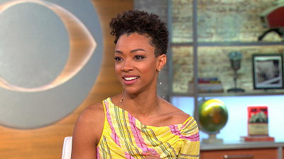 "CBS This Morning - Sonequa Martin-Green on ""Star Trek: Discovery"""