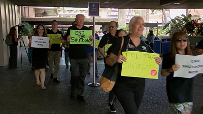 CBS This Morning - Snow and TSA staffing strain to snarl travel