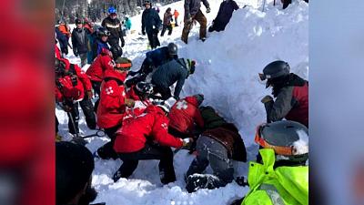 CBS This Morning - Avalanche at New Mexico ski resort