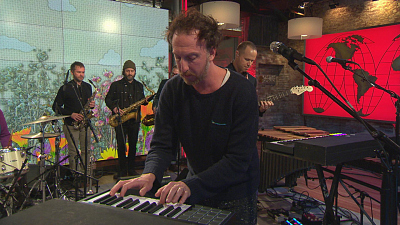 "CBS This Morning - Guster performs ""Hello Mr. Sun"""