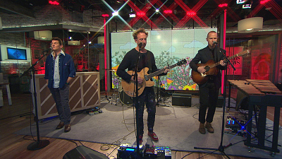 "CBS This Morning - Guster performs ""Hard Times"""