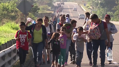 CBS This Morning - Mexico's new process for migrants going to US