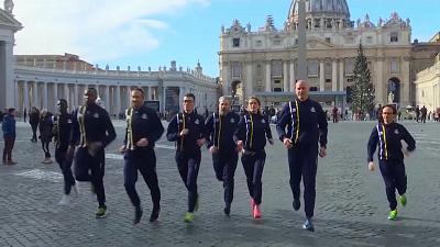 CBS This Morning - Godspeed: Vatican track team runs first race