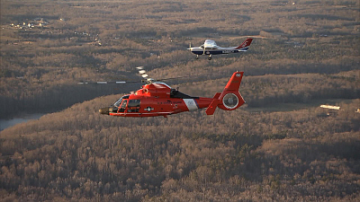 CBS This Morning - Agile Coast Guard unit that protects D.C. sky