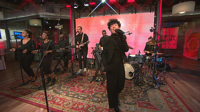 "CBS This Morning - Emily King performs ""Look At Me Now"""