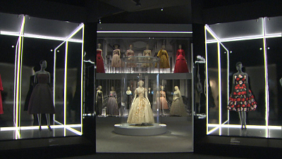 CBS This Morning - London's stunning Christian Dior exhibition