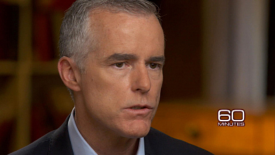 """CBS This Morning - McCabe's explosive comments on """"60 Minutes"""""""