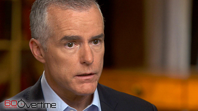 CBS This Morning - McCabe: Rosenstein wanted Comey's advice