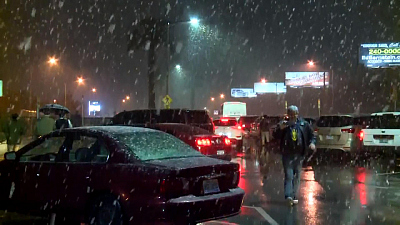 CBS This Morning - Winter storm slams southwest U.S.