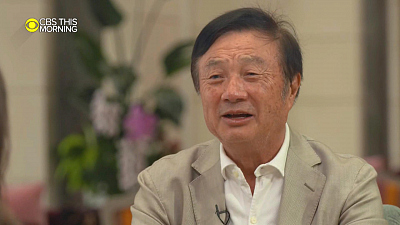 "CBS This Morning - Huawei founder: ""5G is not an atomic bomb"""