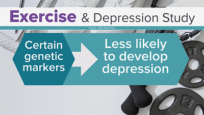 CBS This Morning - Exercise can reduce risk for depression: study