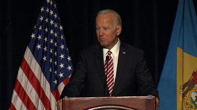 CBS This Morning - Biden casts shadow over Democratic 2020 field