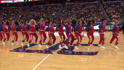 CBS This Morning - Wizdom senior dance team courts fans