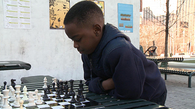 CBS This Morning - Homeless 3rd grader takes chess world by storm