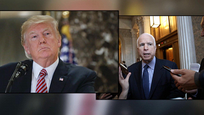 CBS This Morning - Trump's one-sided fight with late Sen. McCain