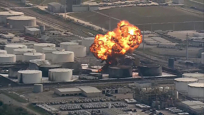 CBS This Morning - Carcinogen detected by Texas chemical plant