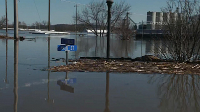 CBS This Morning - Parts of Iowa submerged due to flooding