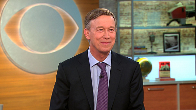 CBS This Morning - Hickenlooper on Afghanistan, gun control